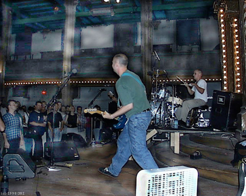 Bob Mould Last Dog and Pony Band Performing at the Angel Orensanz Foundation, New York City August 24, 1998