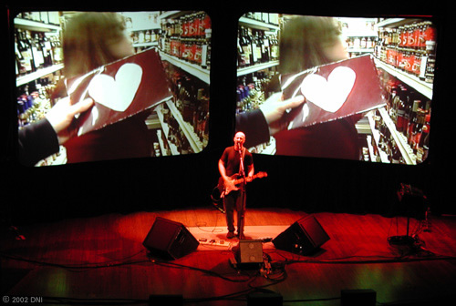Bob Mould Performing at the Berklee Performance Center, Boston, MA April 13, 2002 - Modulate Tour